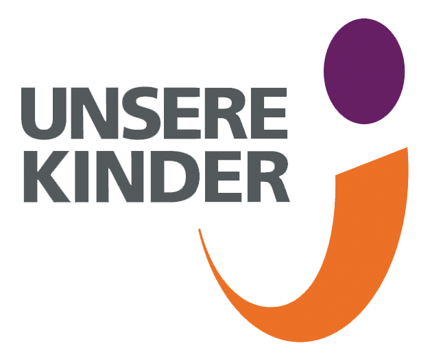 "Logo ""Unsere Kinder"""
